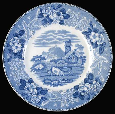 PW Cattle Scenery Blue by Adams China