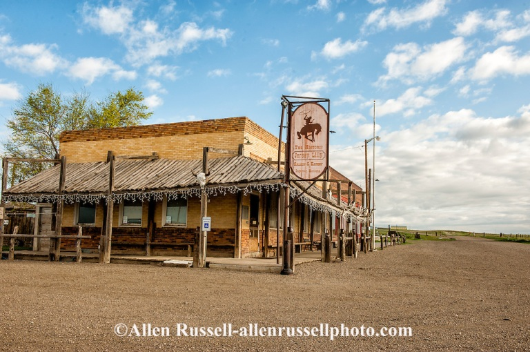 Jersey Lilly Saloon and Restaurant in Ingomar Montana
